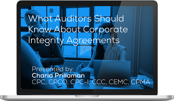 "Watch the Webinar - Everything You Should Know About Corporate Integrity Agreements"" caption="