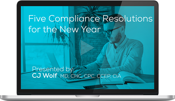 Watch the Five Compliance Resolutions for the New Year Webinar Here