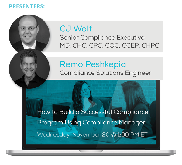 Watch the How to Build a Successful Compliance Program Using Compliance Manager Webinar On-Demand