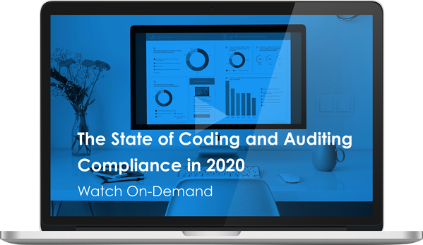 Watch the Webinar - The State of Coding and Auditing Compliance in 2020