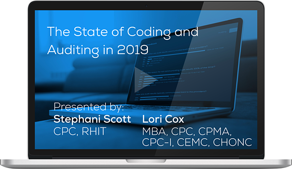 "Watch the Webinar - The State of Coding and Auditing in 2019"" caption="