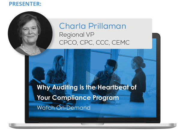 Watch the Webinar - Why Auditing is the Heartbeat of Your Compliance Program
