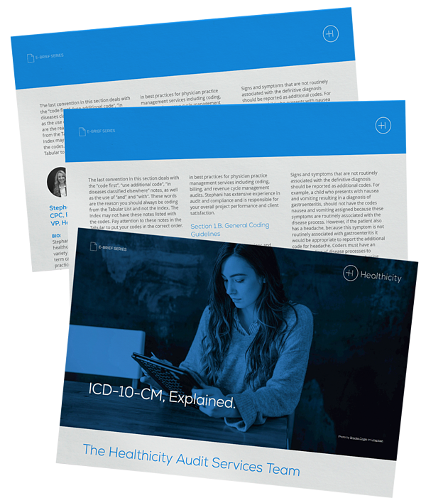 Download the ICD-10-CM, Explained eBrief