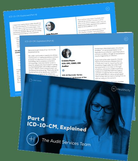 Download the ICD-10-CM, Explained Part 4 eBrief Bundle