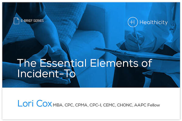 Download the The Essential Elements of Incident-To eBrief