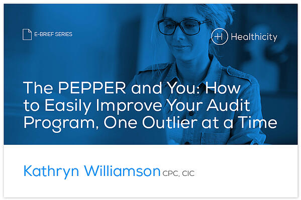 Download the eBrief - The PEPPER and You: How to Easily Improve Your Audit Program, One Outlier at a Time - eBrief