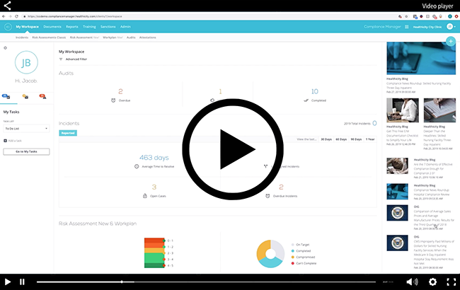 Watch a Video Demo of Our Compliance Manager Software