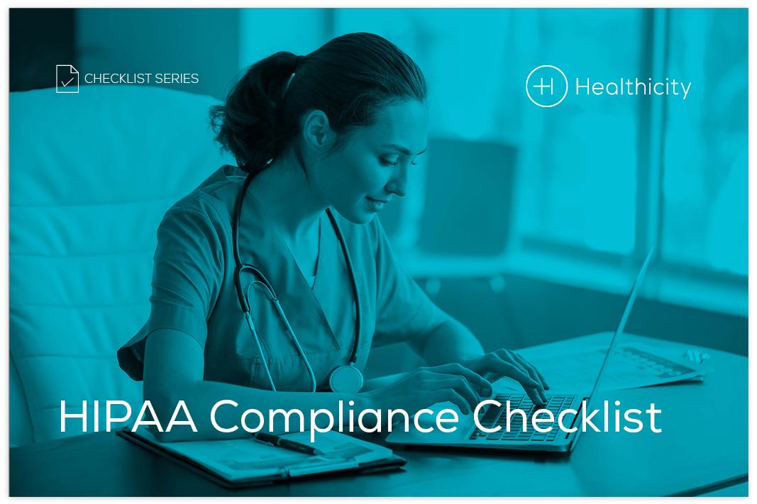 Download the Checklist - HIPAA Compliance Checklist