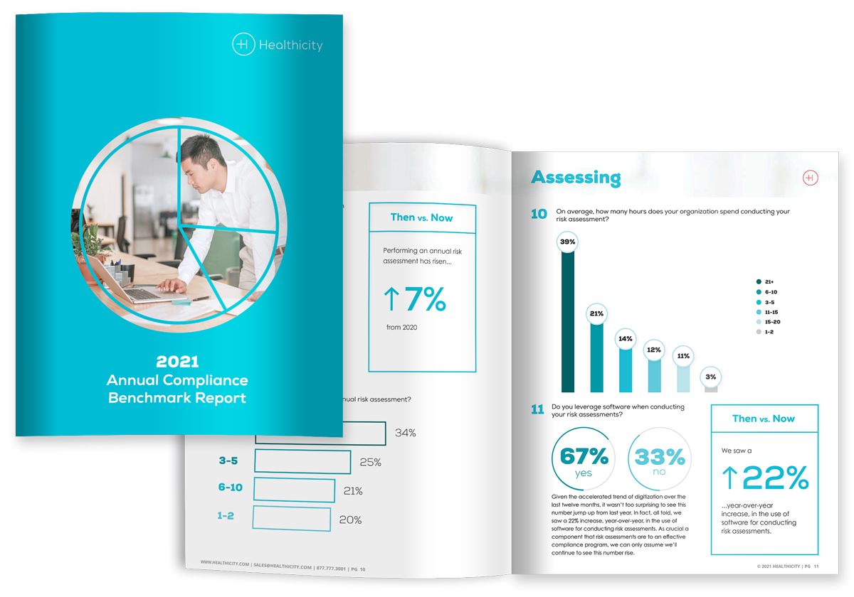 Download the Benchmark Report - 2021 Annual Compliance Benchmark Report