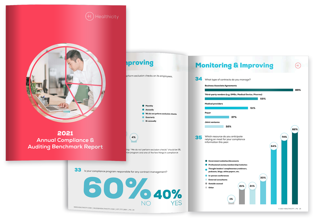 Download the Benchmark Report - 2021 Annual Compliance and Auditing Benchmark Report