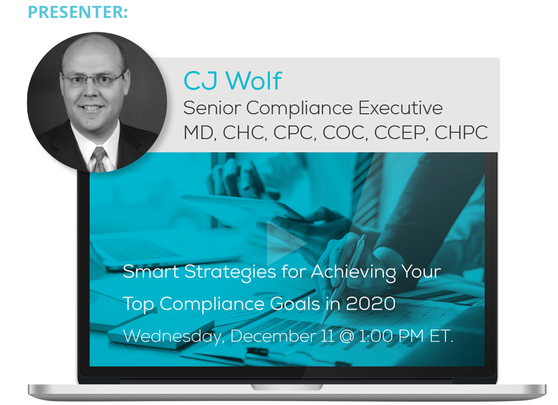 Watch the 'Smart Strategies for Achieving Your Top Compliance Goals in 2020' Webinar