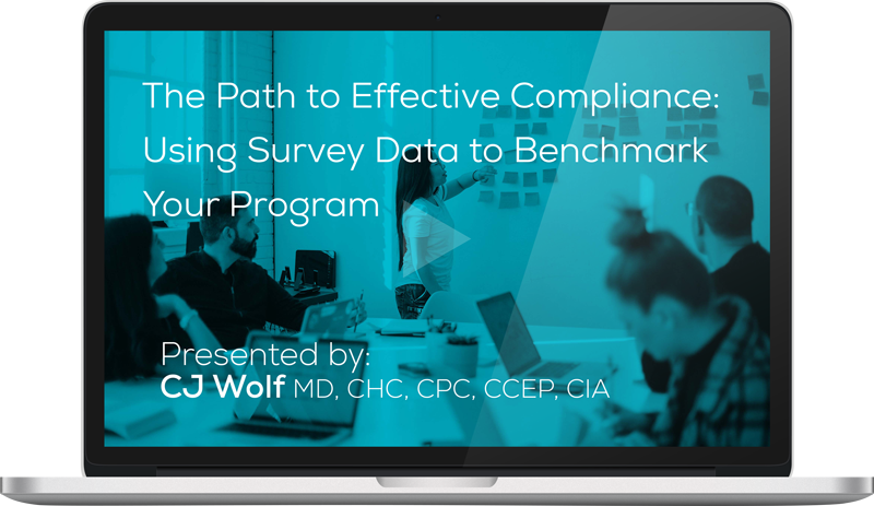Watch the The Path to Effective Compliance: Using Survey Data to Benchmark Your Program Webinar On-Demand