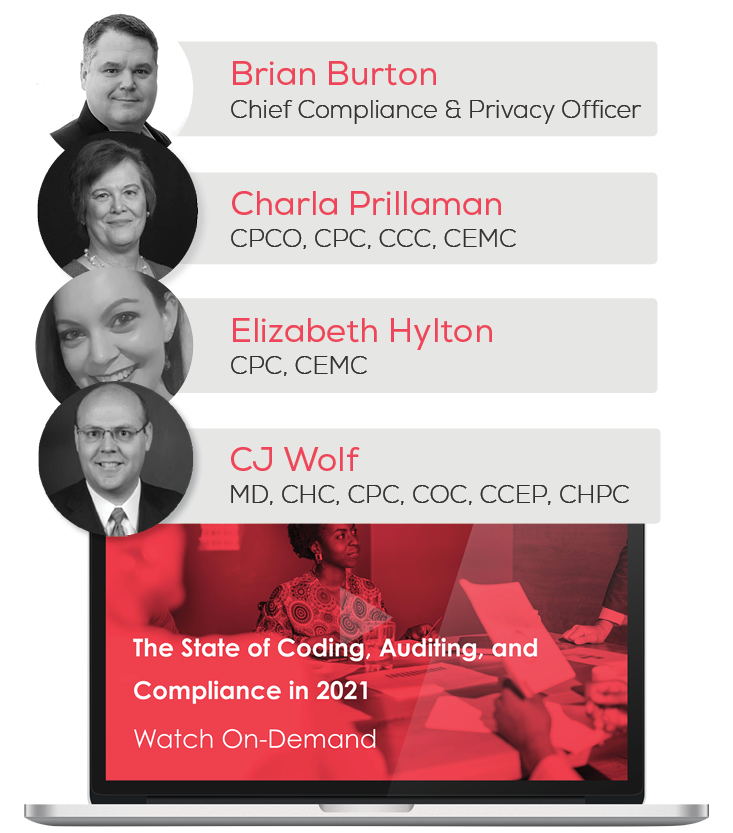 Watch the Webinar - The State of Coding, Auditing, and Compliance in 2021