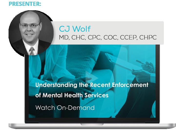 Watch the Webinar - Understanding the Recent Enforcement of Mental Health Services