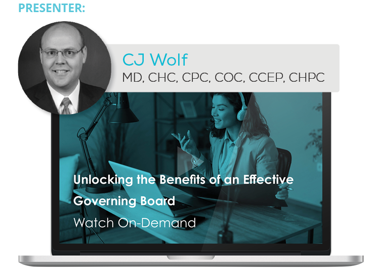 Watch the Webinar - Unlocking the Benefits of an Effective Governing Board