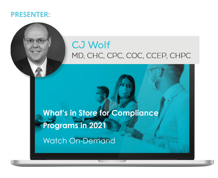 Watch the Webinar - What's in Store for Compliance Programs in 2021