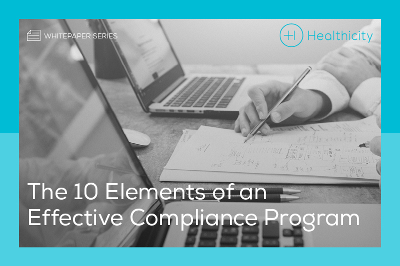 Download the '10 Elements of an Effective Compliance Program' Whitepaper