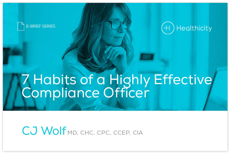 Download '7 Habits of a Highly Effective Compliance Officer' eBrief