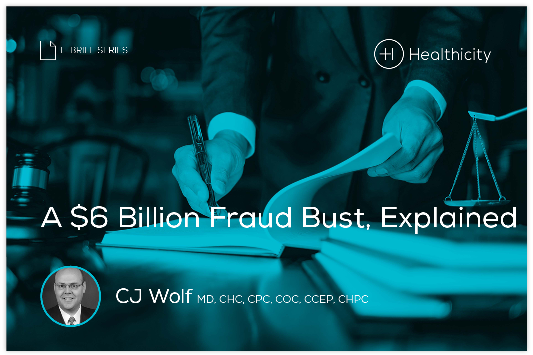 Download the eBrief - A $6 Billion Fraud Bust, Explained