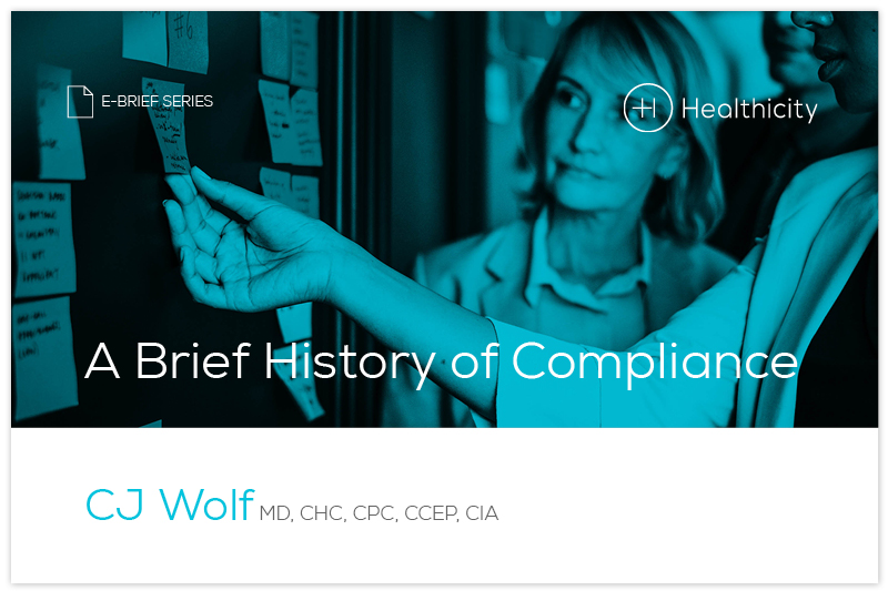 Download the 'A Brief History of Compliance' eBrief