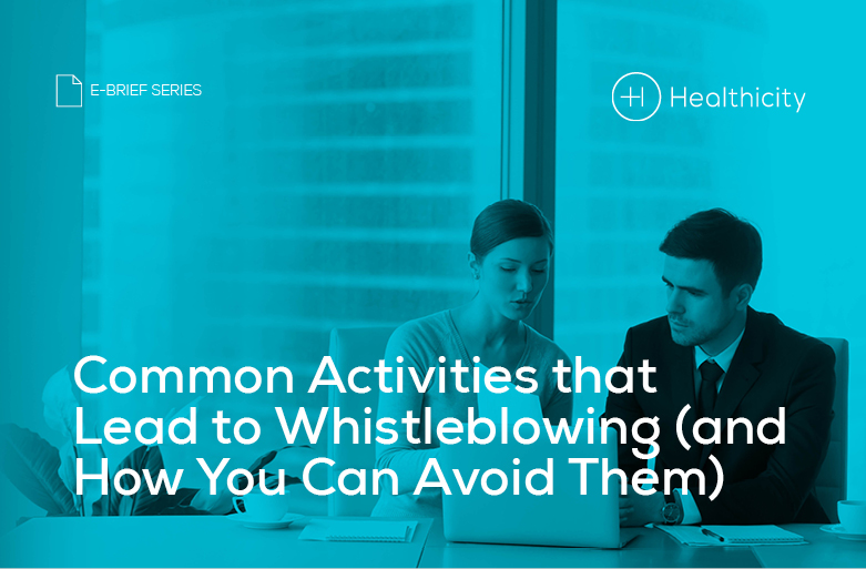 Download the 'Common Activities that Lead to Whistleblowing (and How You Can Avoid Them)' eBrief