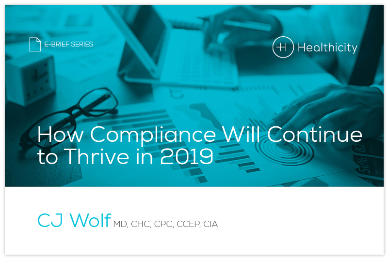 Download the 'How Compliance Will Continue to Thrive in 2019'