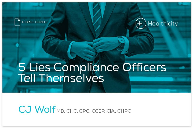 Download the '5 Lies Compliance Officers Tell Themselves' eBrief